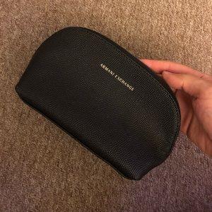Armani Exchange women's makeup pouch